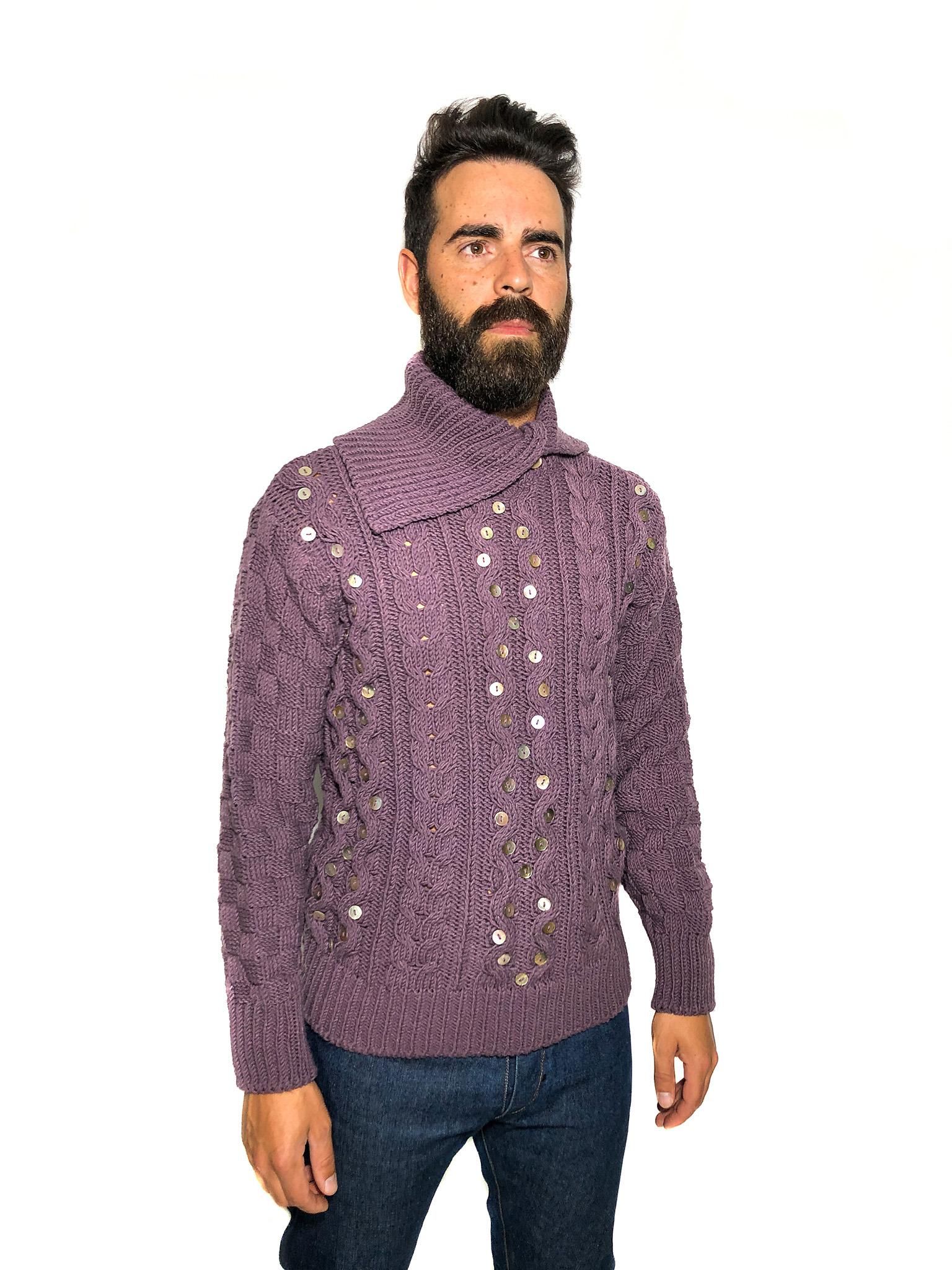 Lavender Wool Jumper