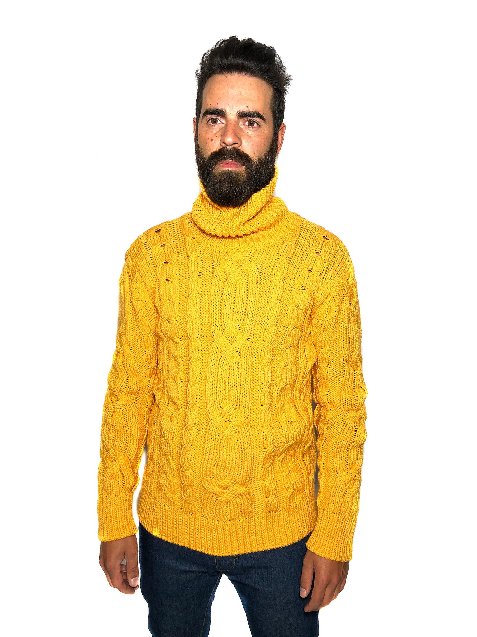 Yellow Wool Jumper
