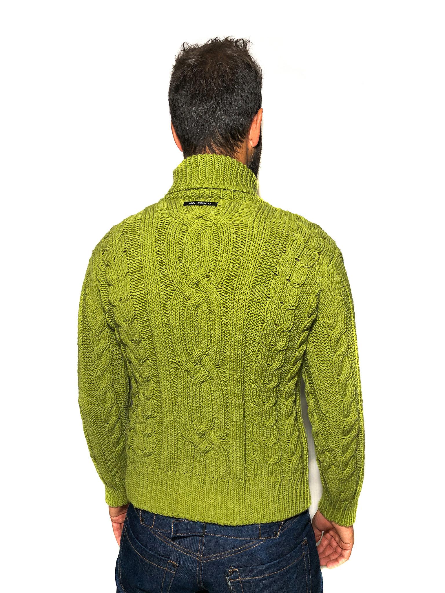 Green Wool Jumper