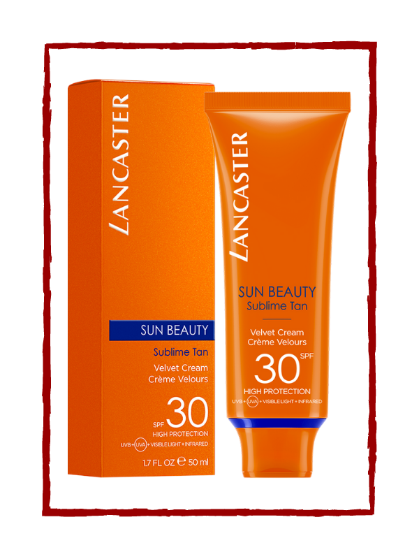 SUN BEAUTY velvet touch face cream SPF30