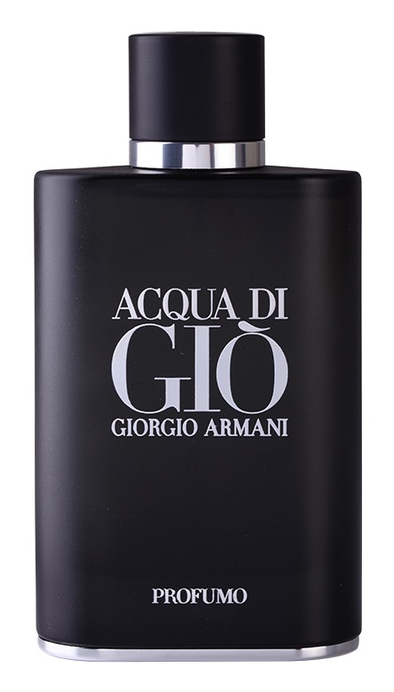 Acqua di Gio Profumo | Black is the New Black