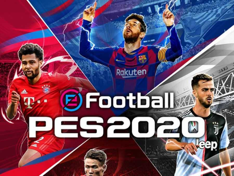 PES Football 2020 PS4 / Xone con figura