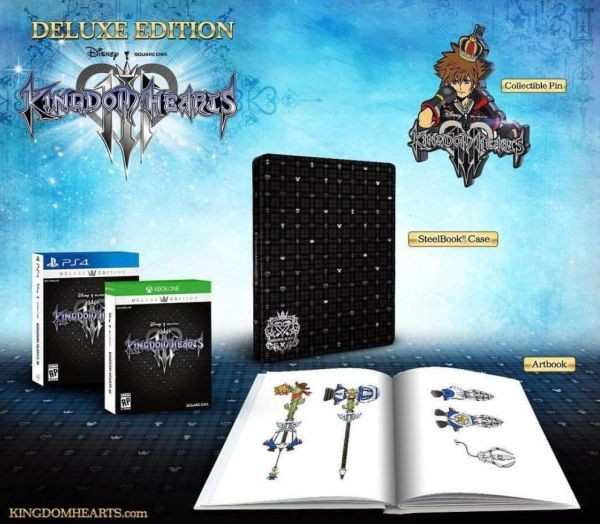 Kingdom Hearts 3 PS4 Ed Deluxe nuevo