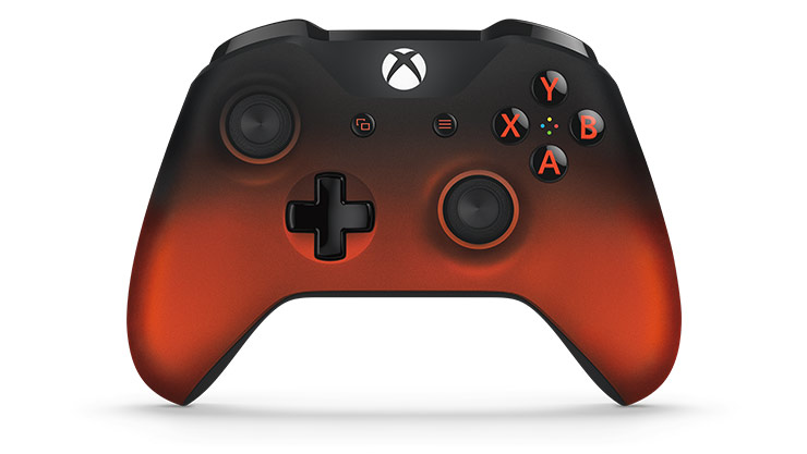 CONTROL XBOX ONE ED VOLCANO RED/BLACK