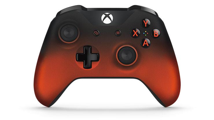 CONTROL XBOX ONE ED VOLCANO RED/BLACK
