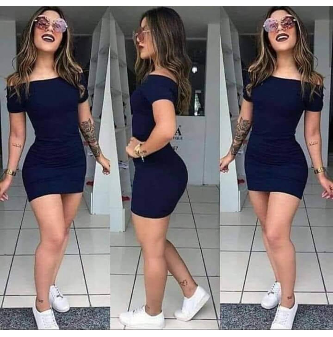 Hombros Sin Plus Vestido Ajustado Kadrihel Corto Talla 0wknOP