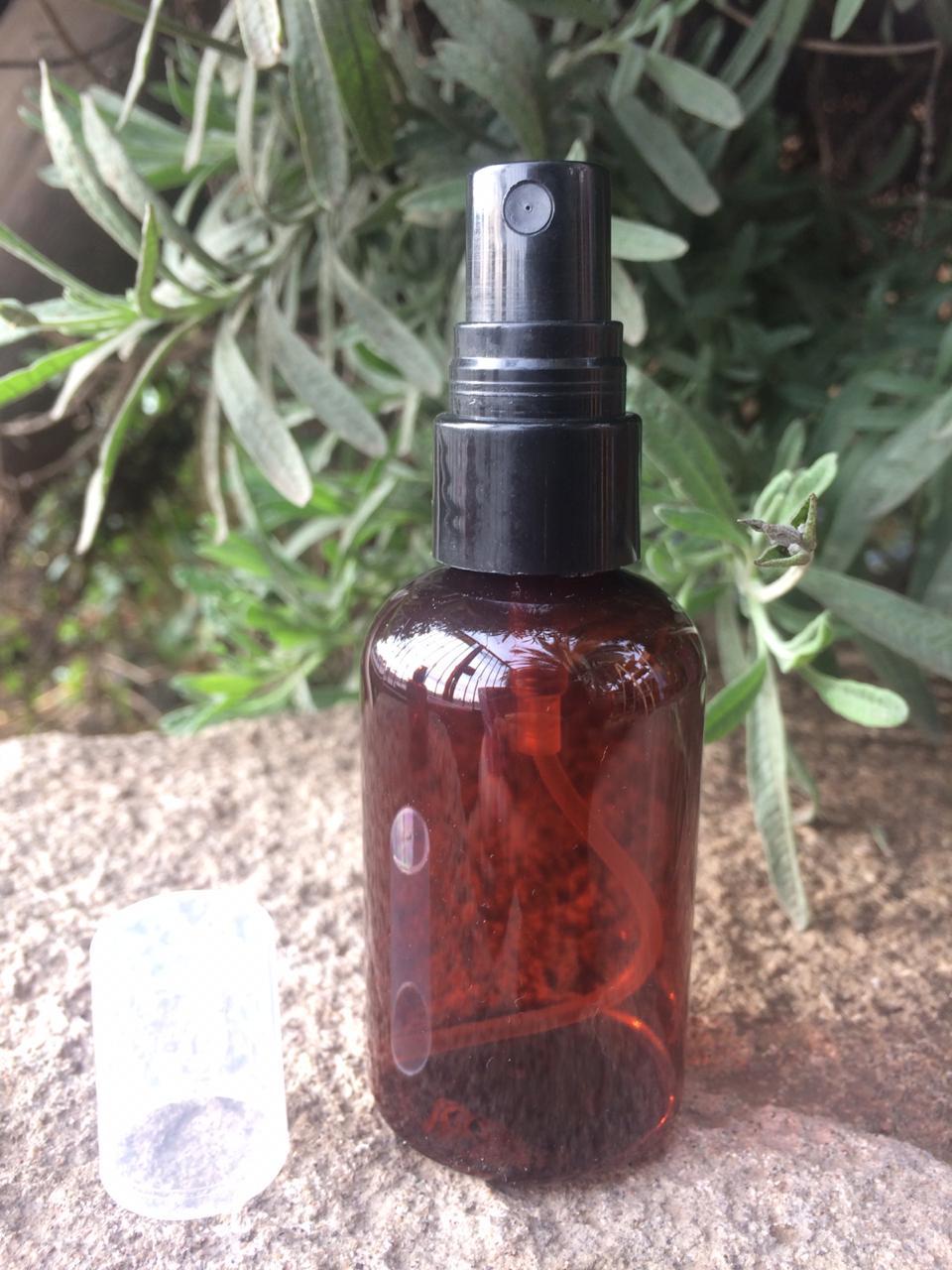 Botella 70ml Ámbar con Spray