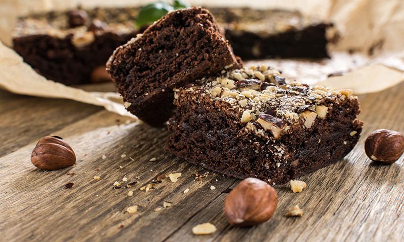 Receta de Brownie con aceite de coco Natural