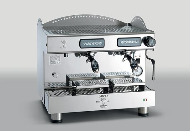 Cafetera Italiana Compacta Programable 2 Grupos