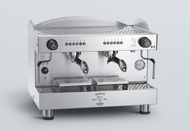 Cafetera Profesional Programable TALL 2 GR 100% Acero Inox AISI 304