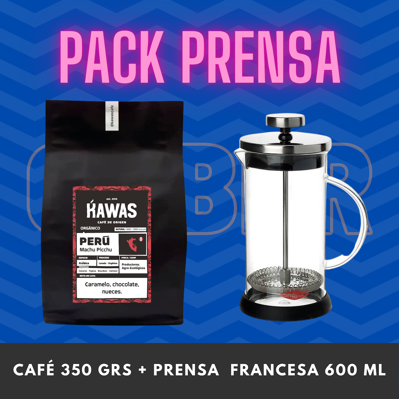 PACK PRENSA 600 ML
