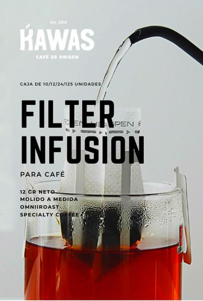 Filtro Infusion de Café Desechable