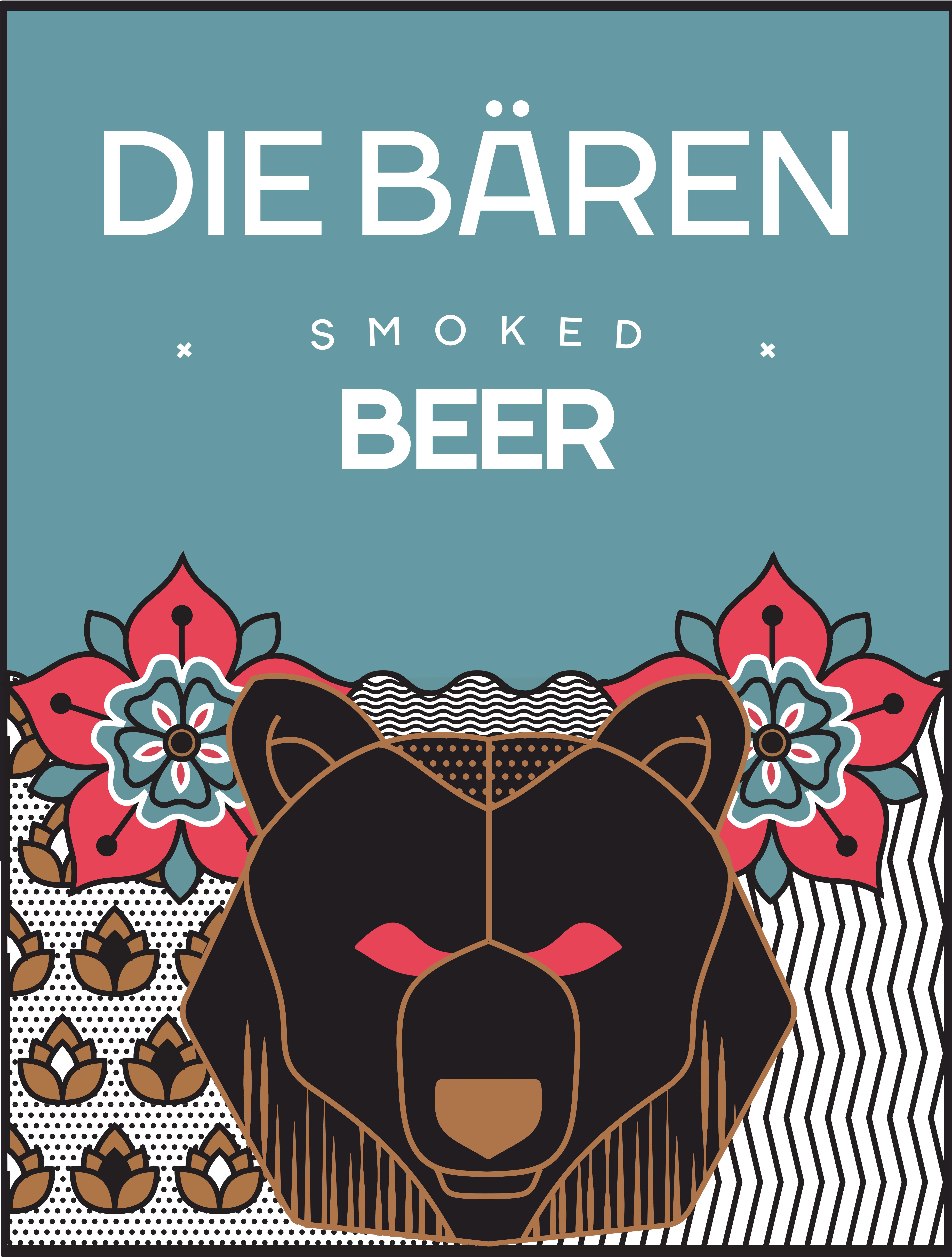 12 pack [473 cc]  Die Bären - Smoked Beer