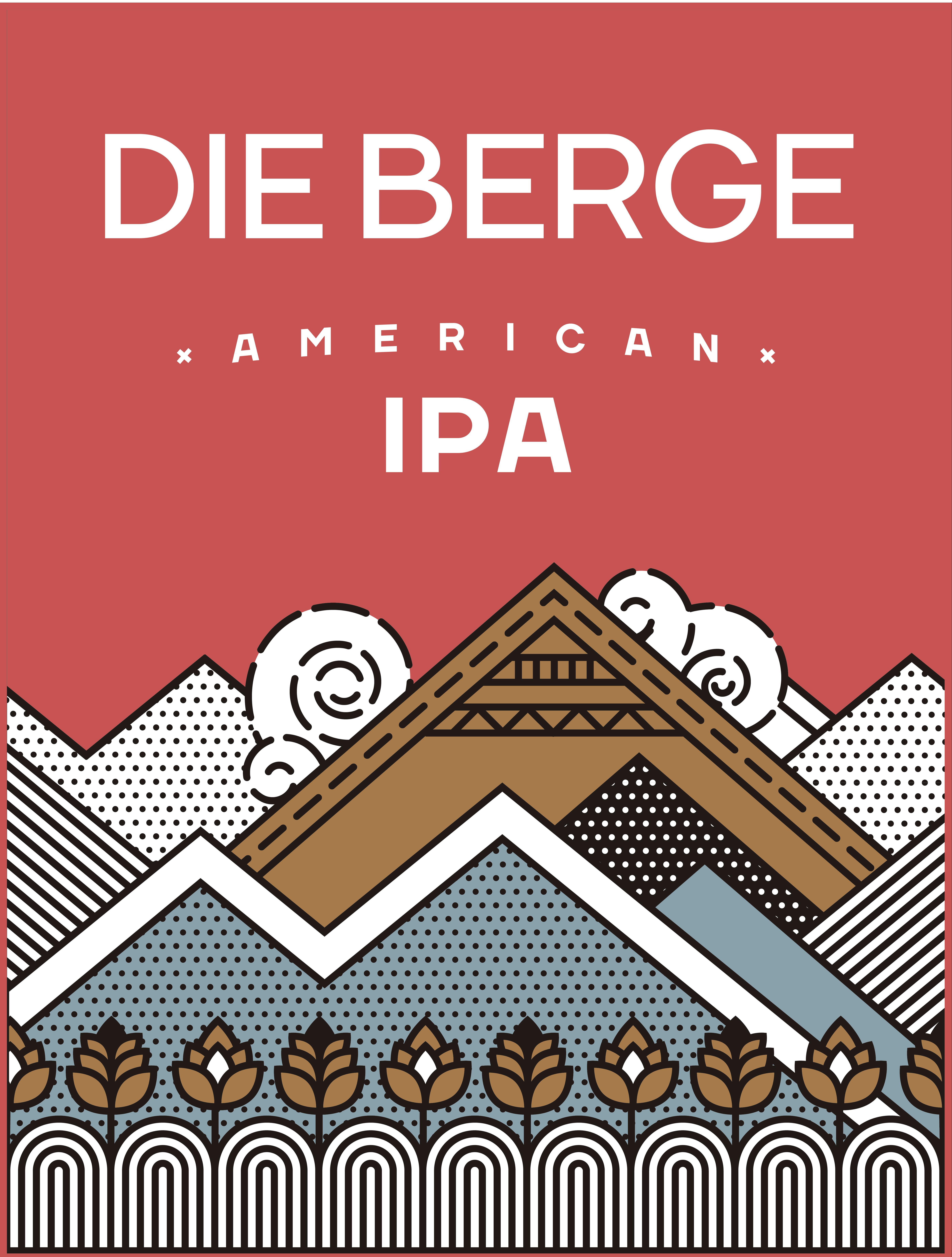 4 Pack [473 cc] - Die Berge  American IPA