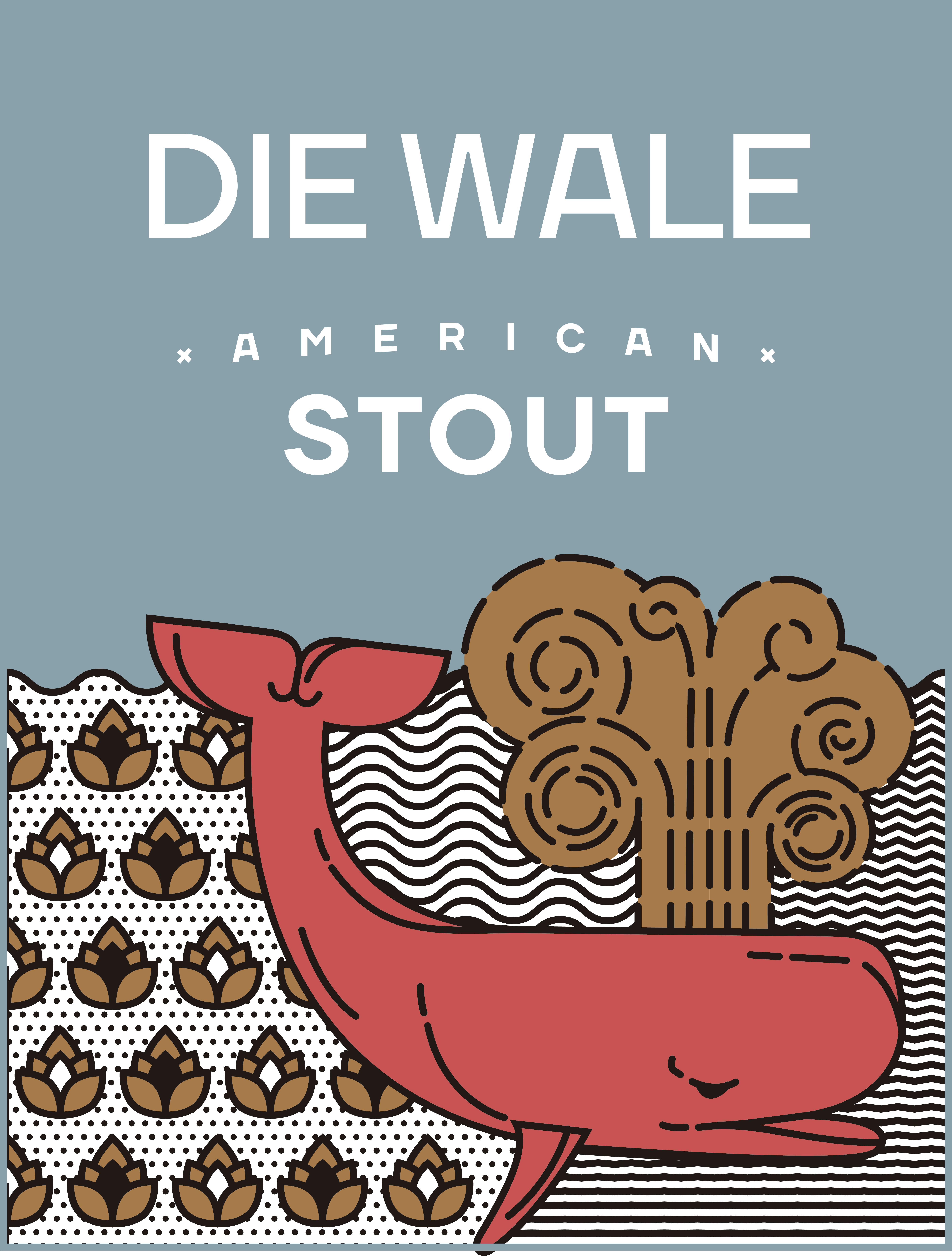 4 Pack [473cc] - Die Wale American Stout