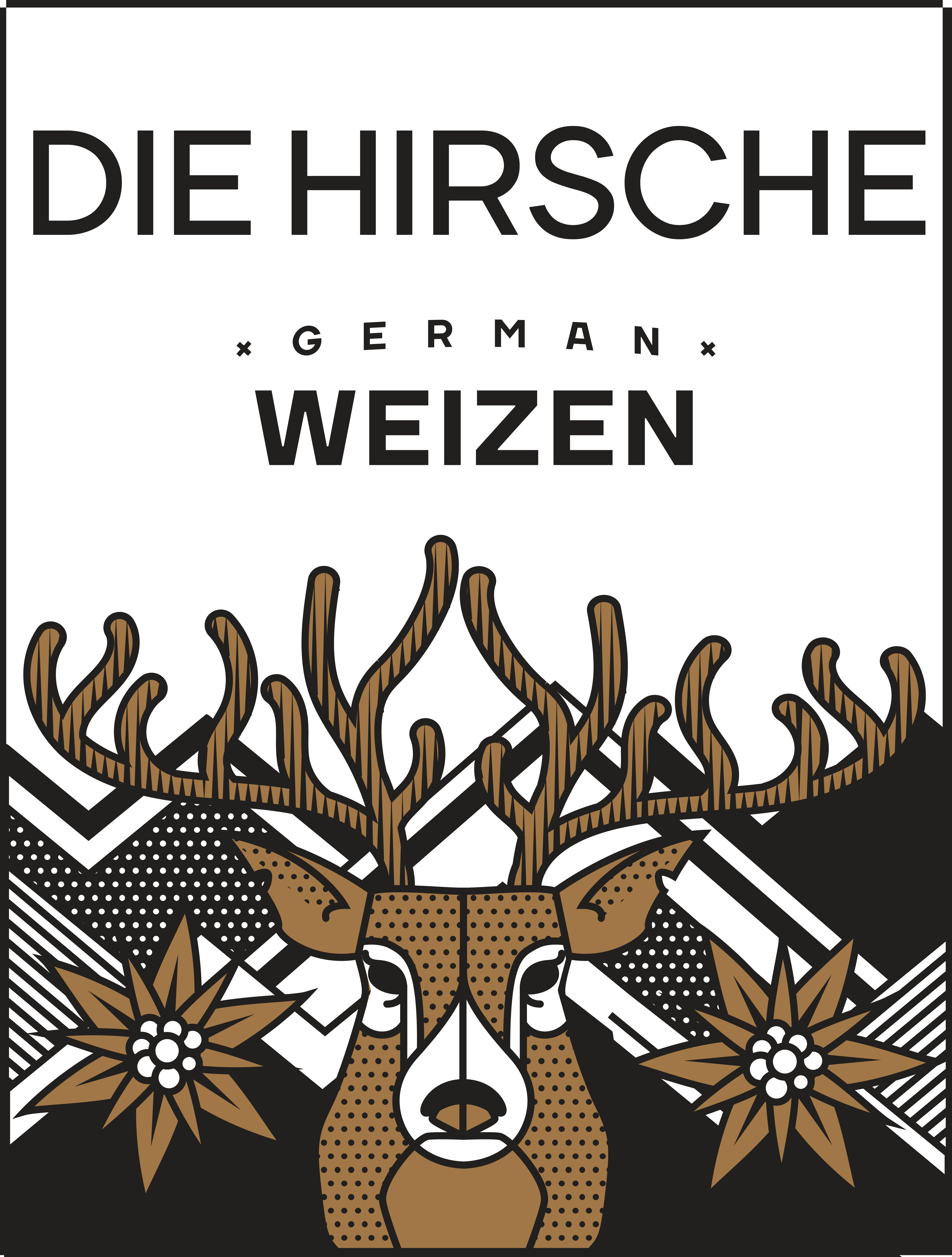 4 Pack [473 cc] - Die Hirsche German Weizen
