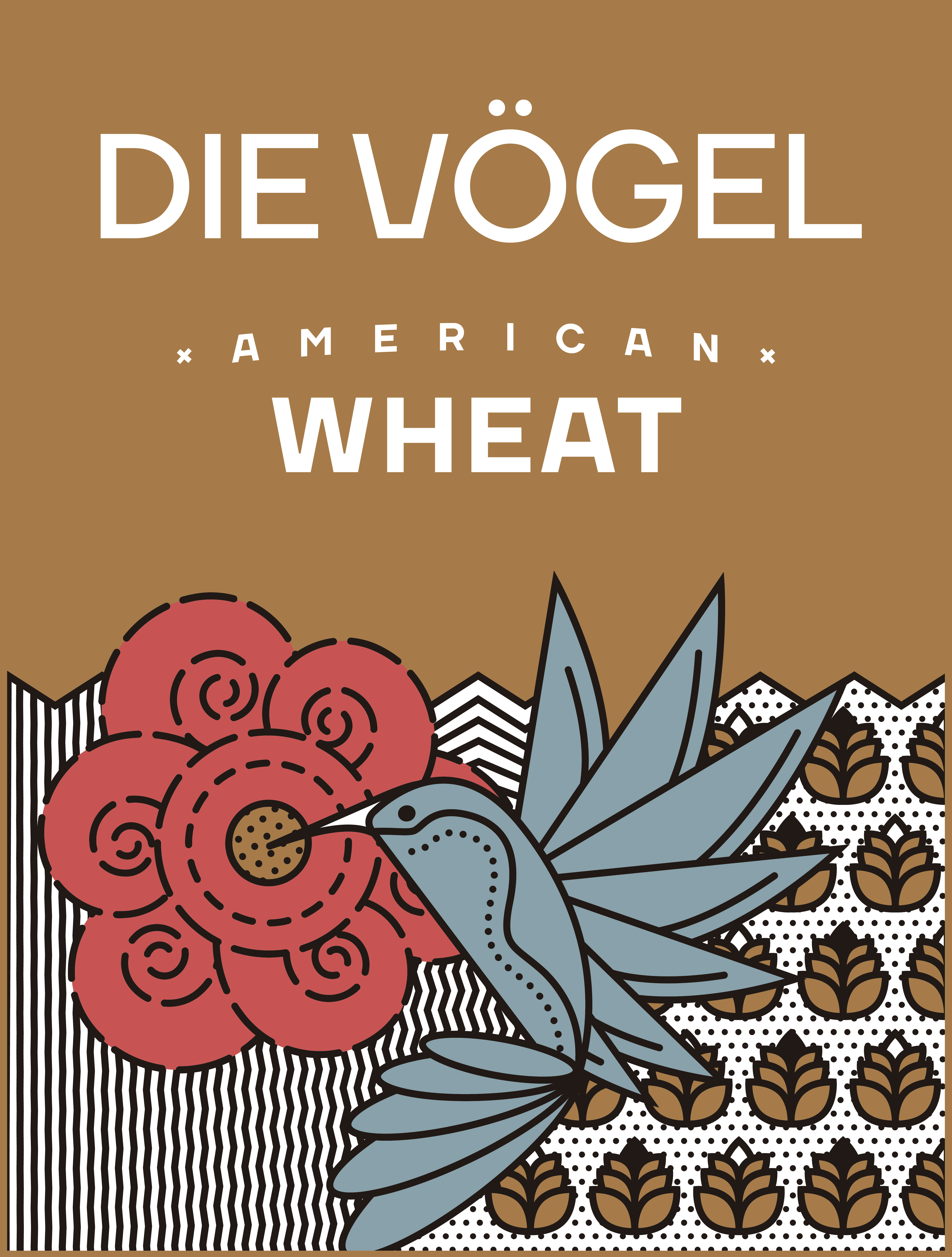 4 Pack [473 cc] - Die Vögel American Wheat