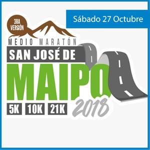 Inscripción Medio Maratón San José de Maipo