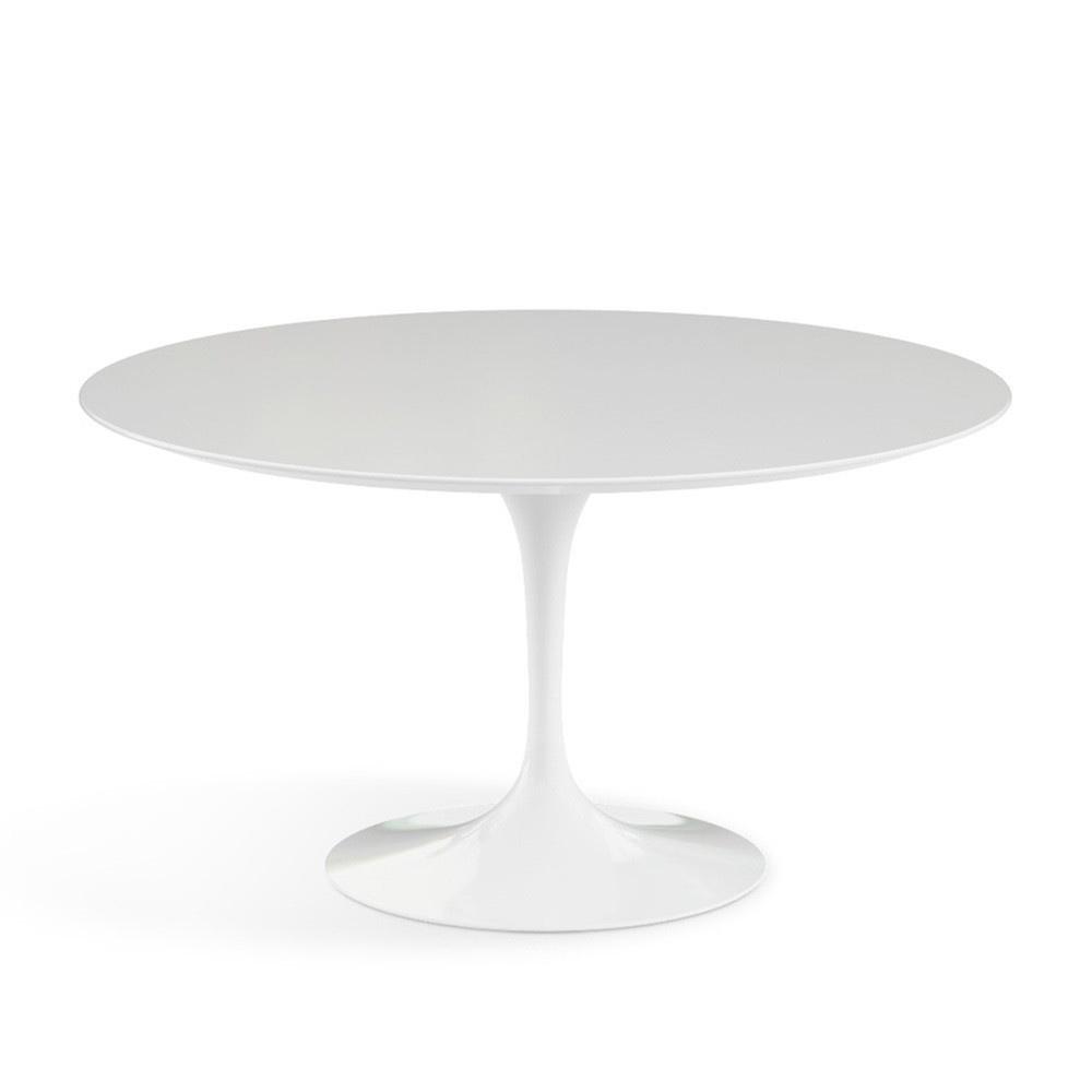 Mesa modelo Tulip de Eero Saarinen en color Blanco 120cm lacada