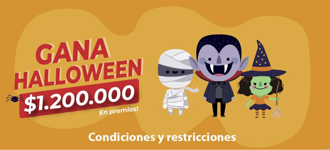 <center> Gana Halloween </center>