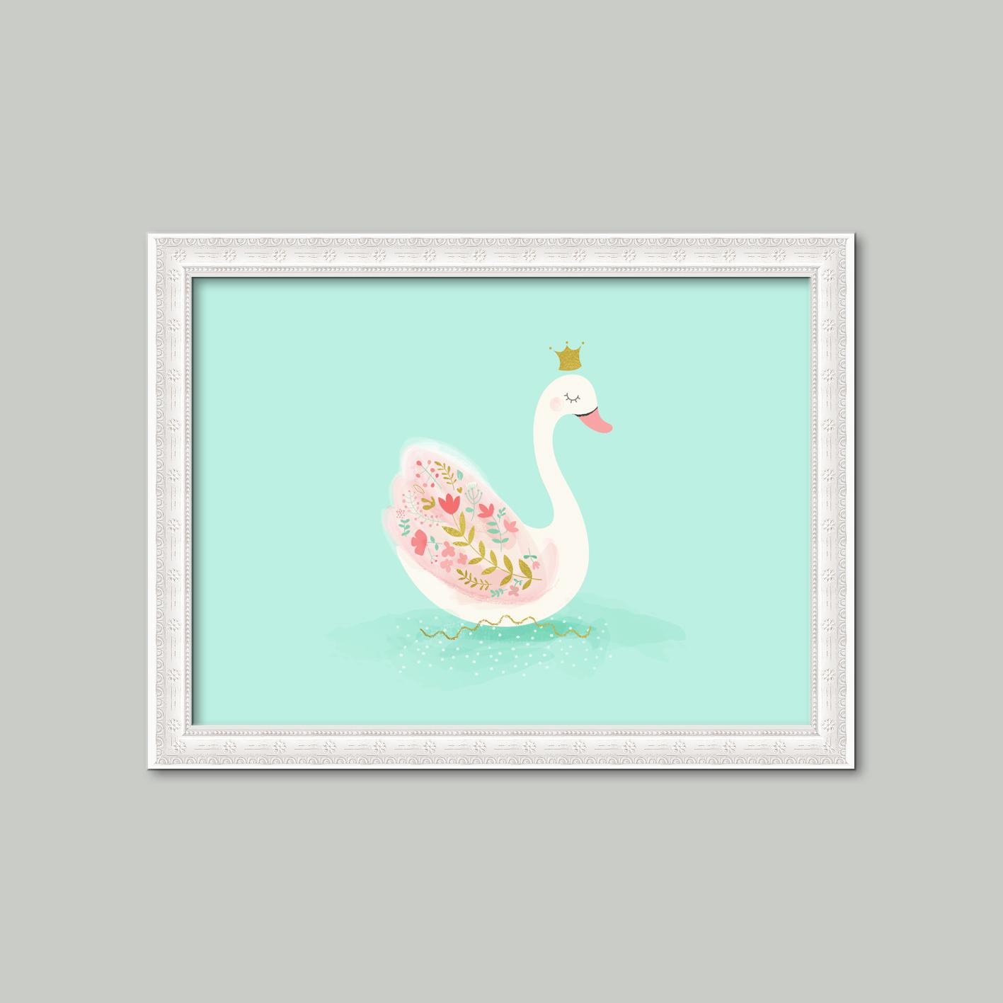 Cuadro Cisne