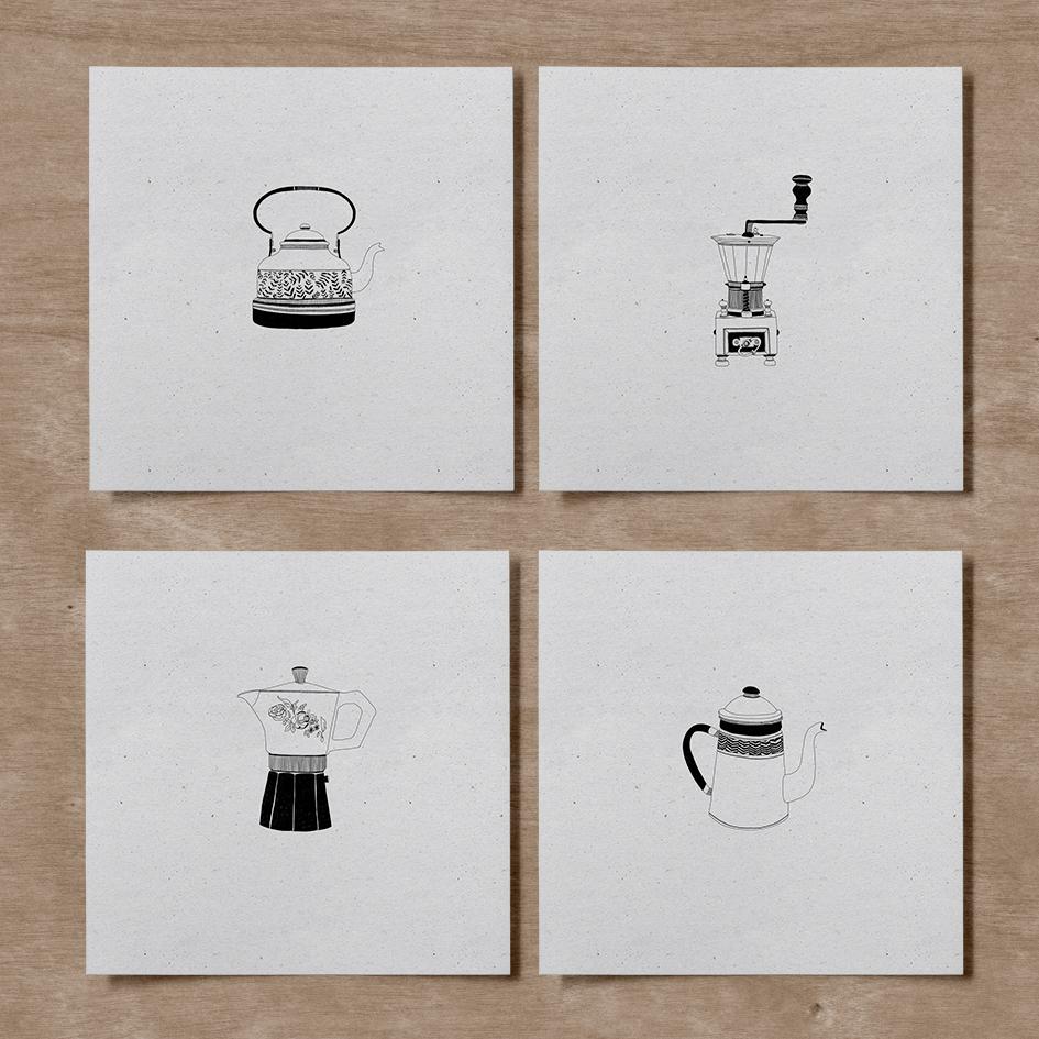 Lámina Pack Café