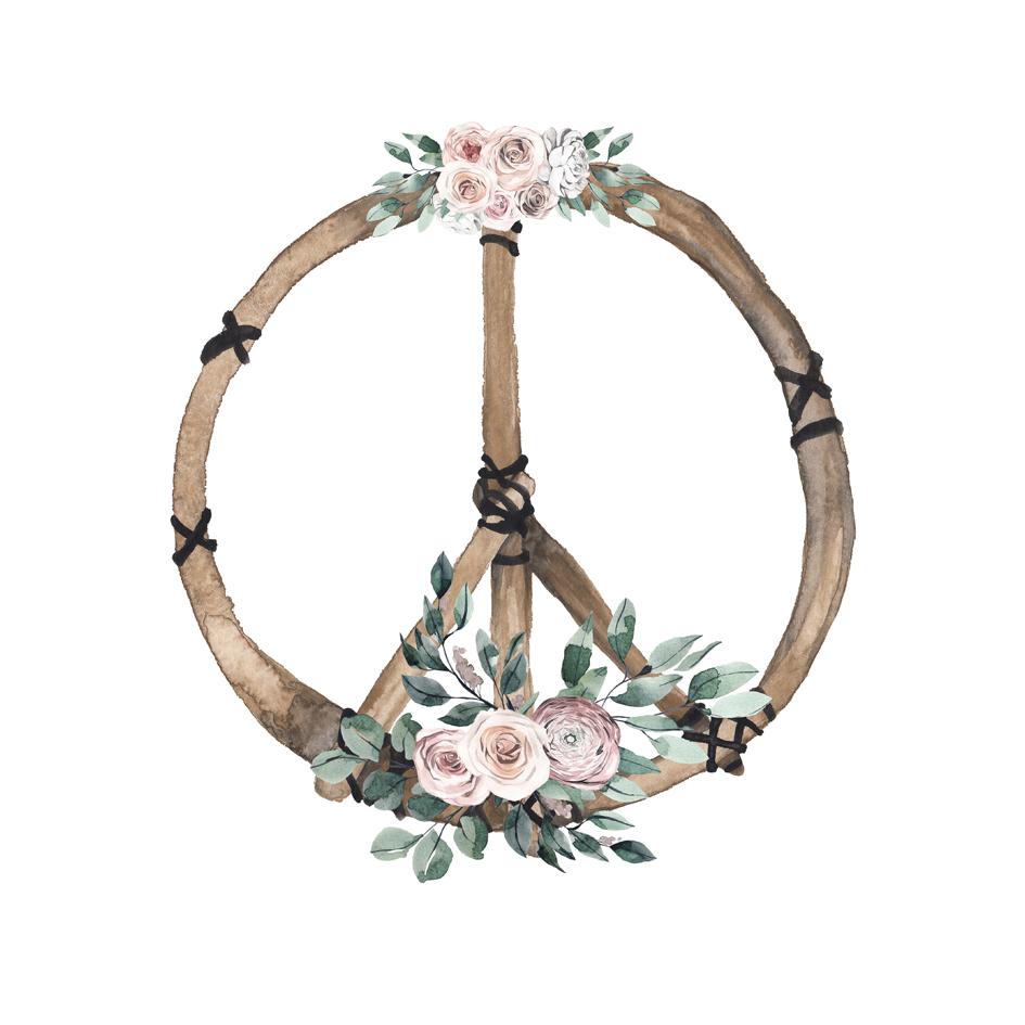 Lámina Signo Paz