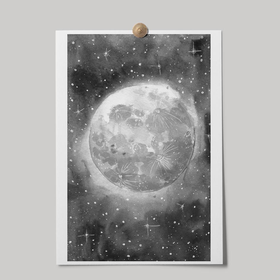 Lámina Luna