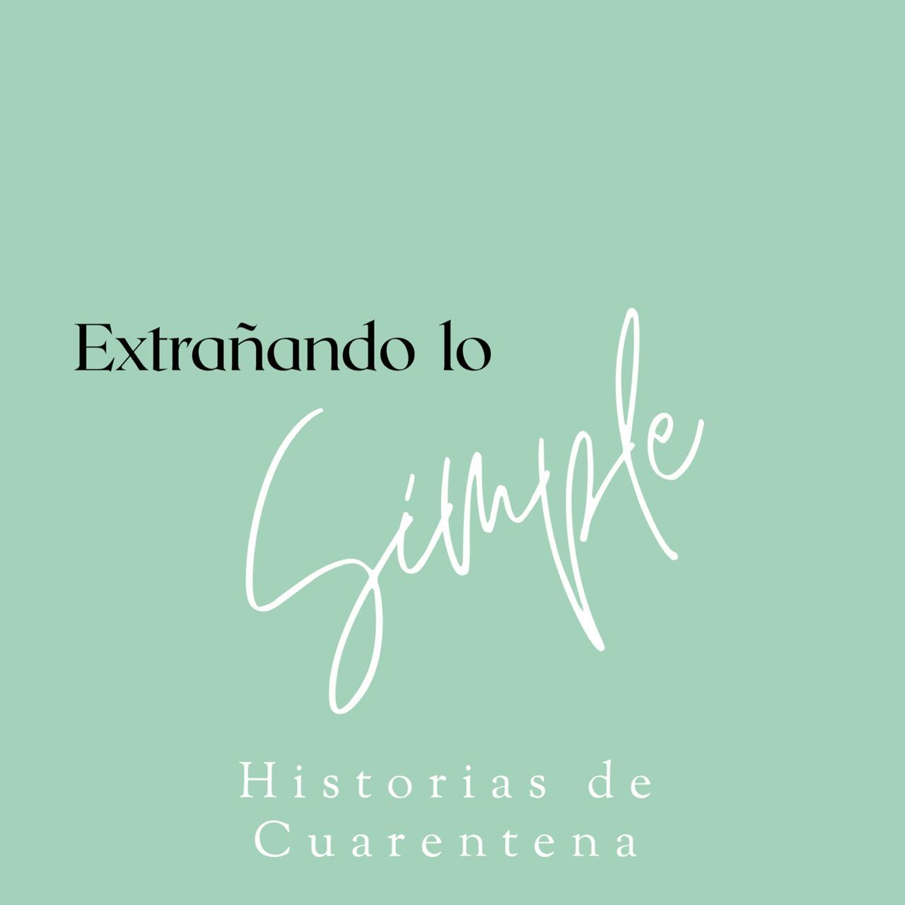 Extrañando lo simple - Andrea Puelma