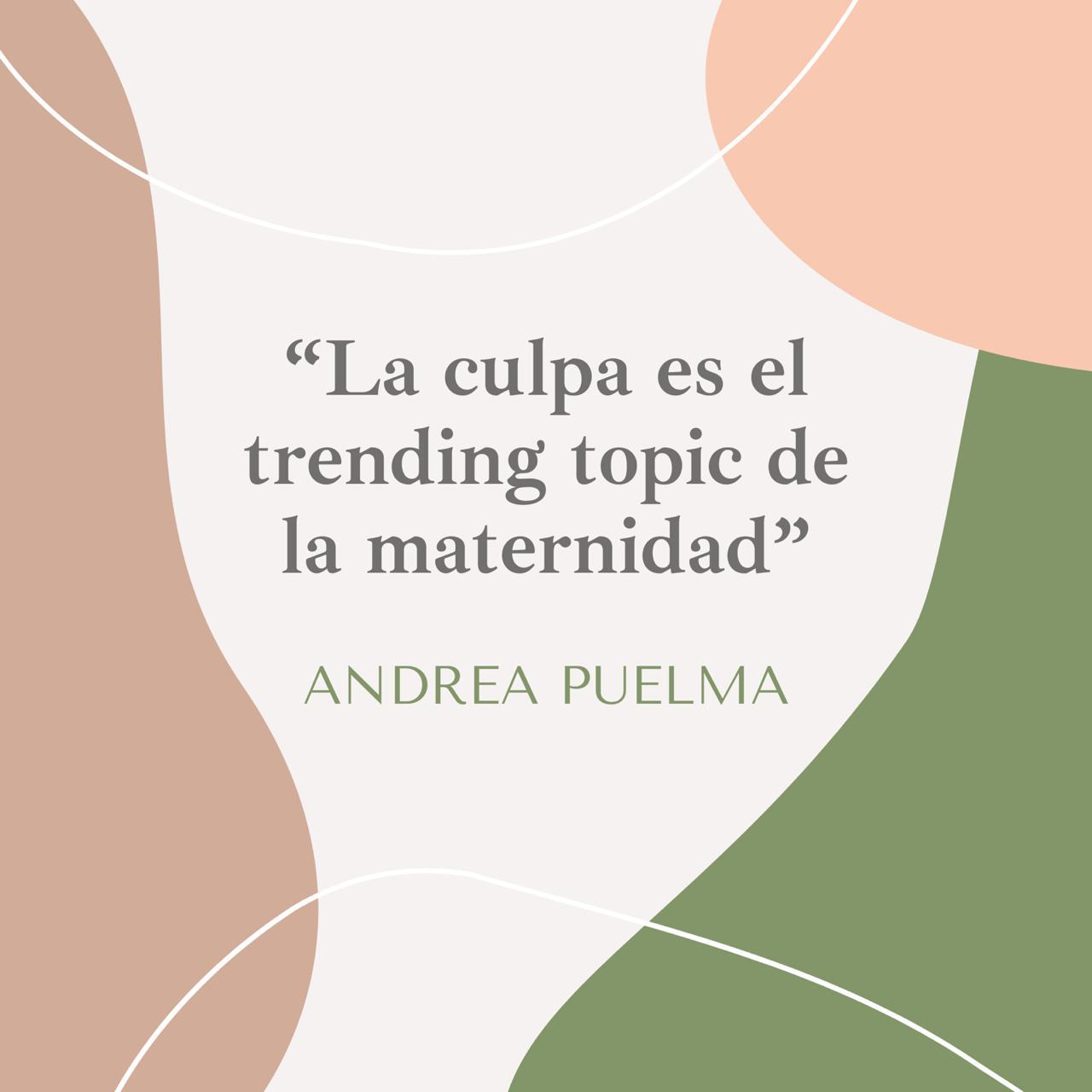 La culpa materna - Andrea Puelma