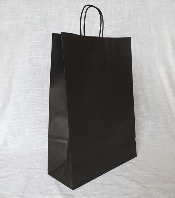 Bolsas de Papel Negro - 30 x 41 x 12 CM 1X50 unidades