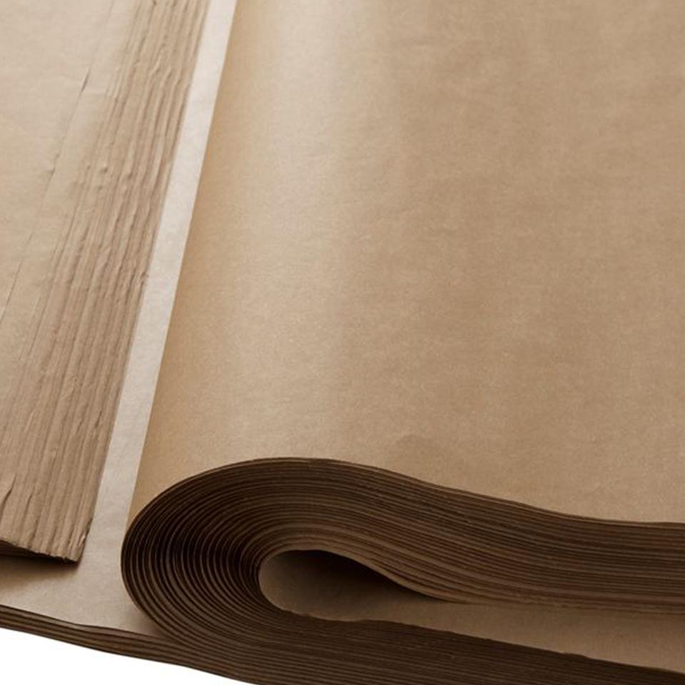 Papel Kraft 35 grs. 200 pliegos 75 x 100 cms