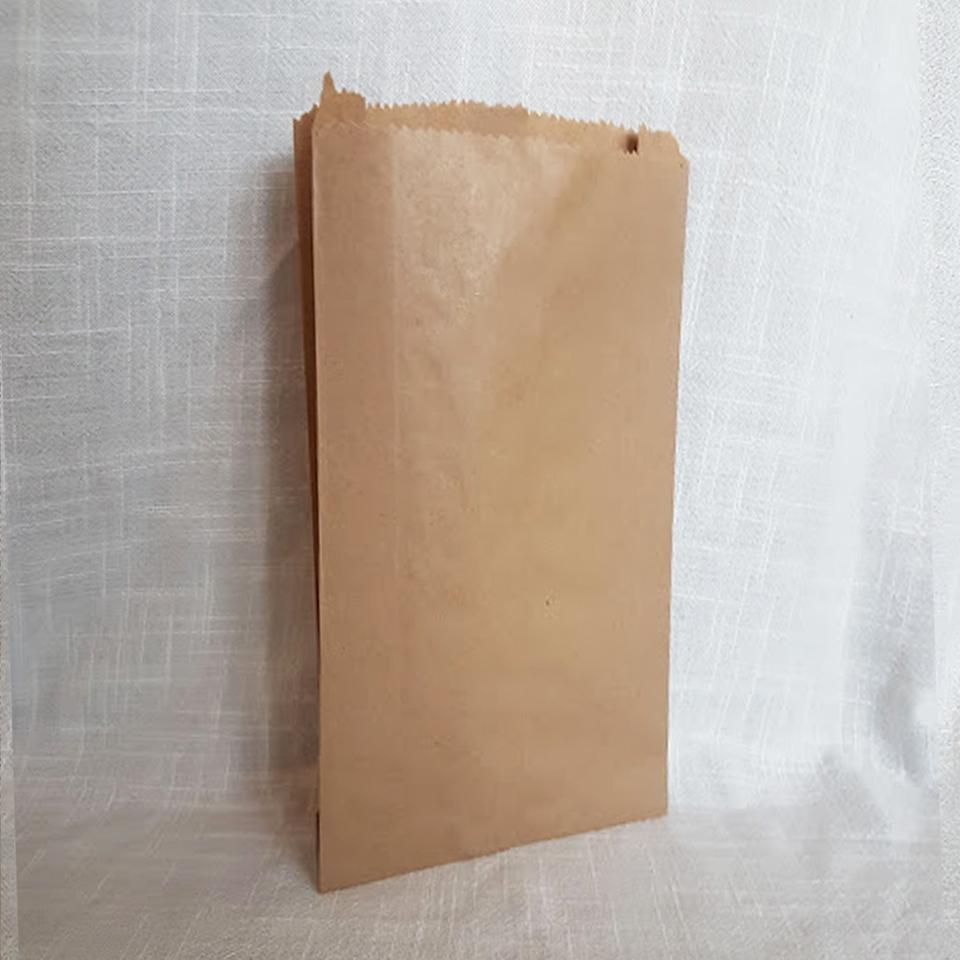 Sacos de Papel Kraft K-0200 1X100 unidades