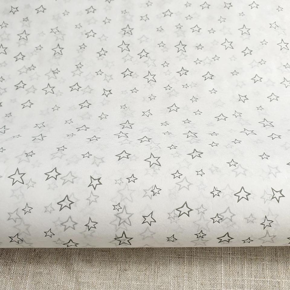 Papel Seda Estrellas 250 pliegos 77 x 90 cms