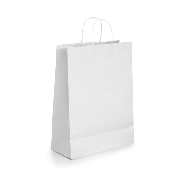 Bolsas de Papel Blanco - 30 x 22 x 10 CM 1X50 unidades