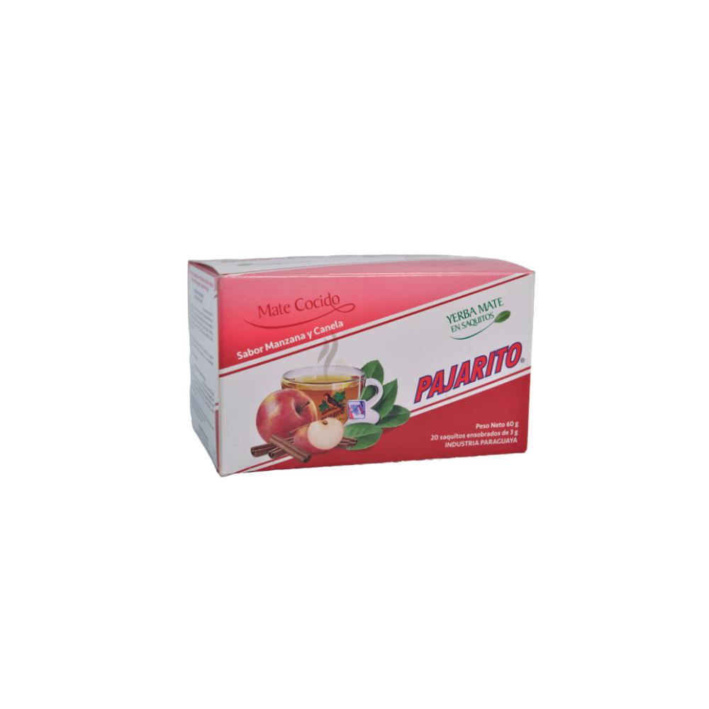 Mate Cocido Pajarito Sabor Manzana y Canela