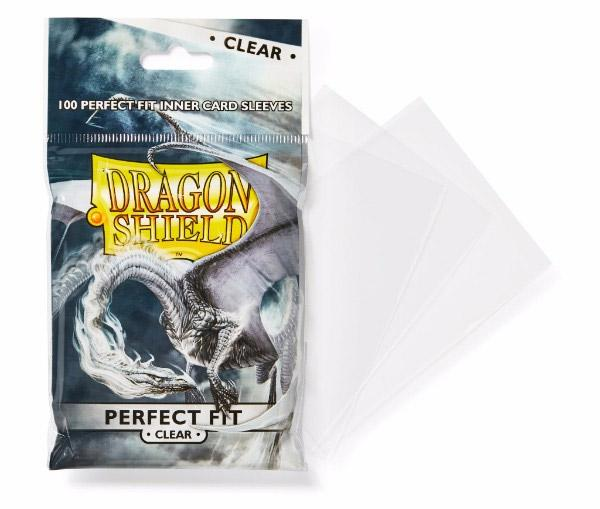 DS: PERFECT FIT Toploaders (100) - Clear