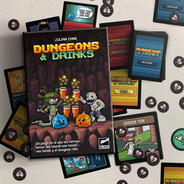DUNGEONS AND DRINKS
