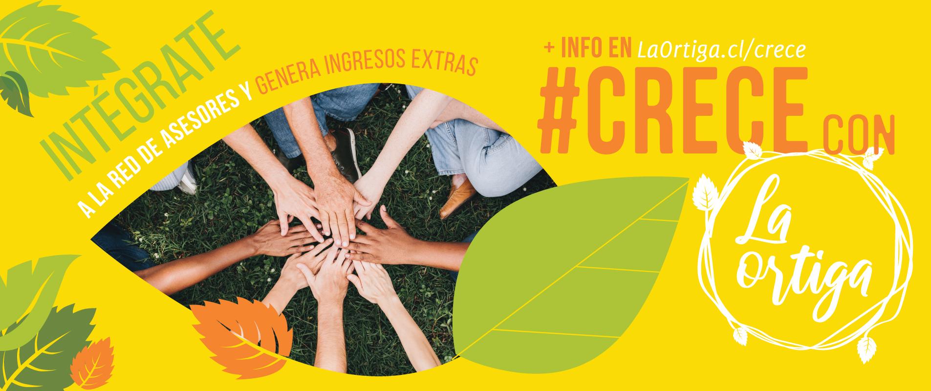 #CrececonLaOrtiga.cl