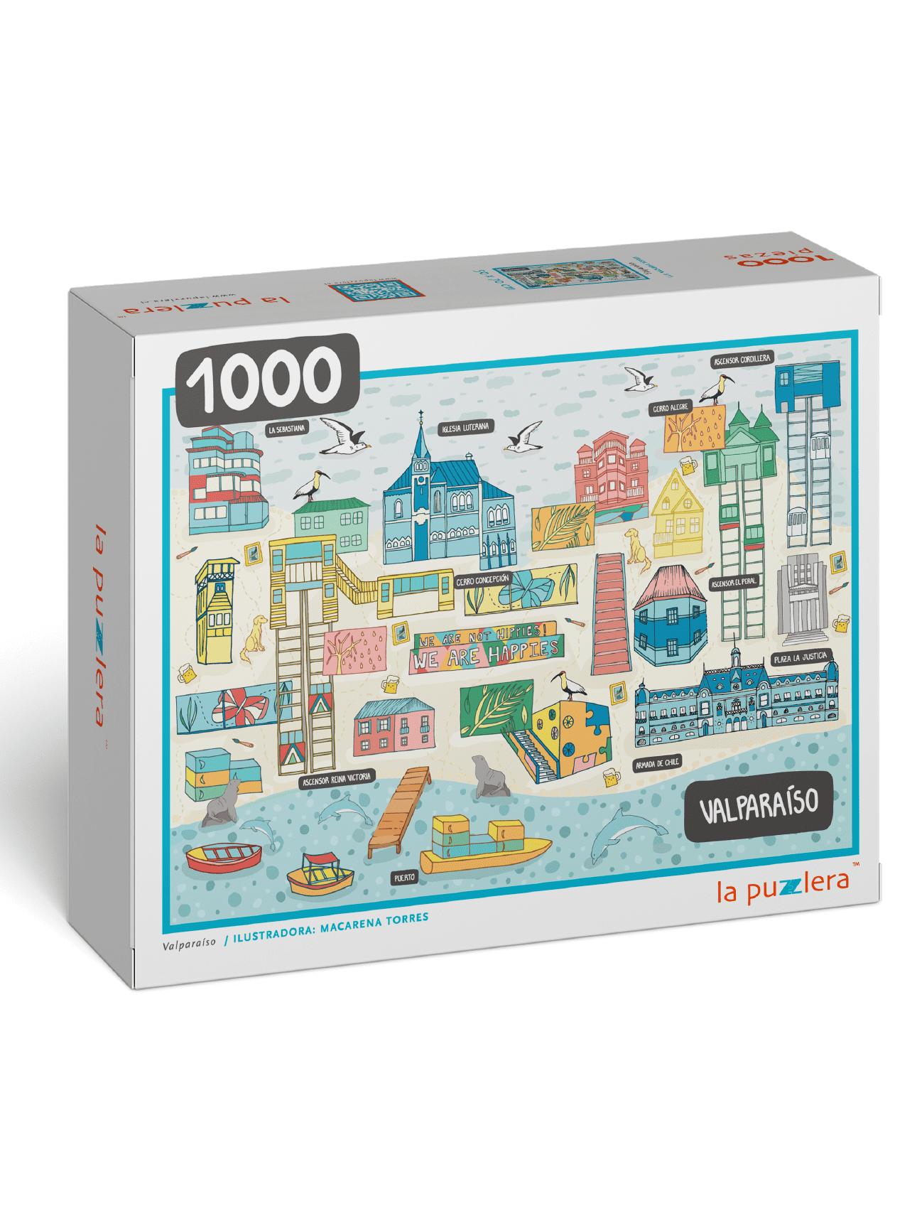 Puzzle Valparaíso 1000 Piezas