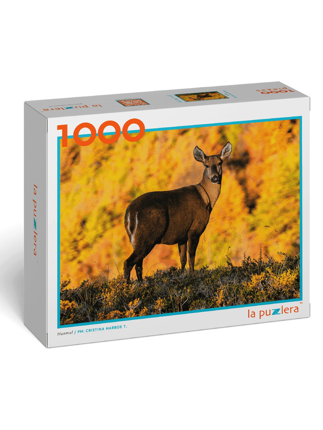 Puzzle Huemul 1000 Piezas