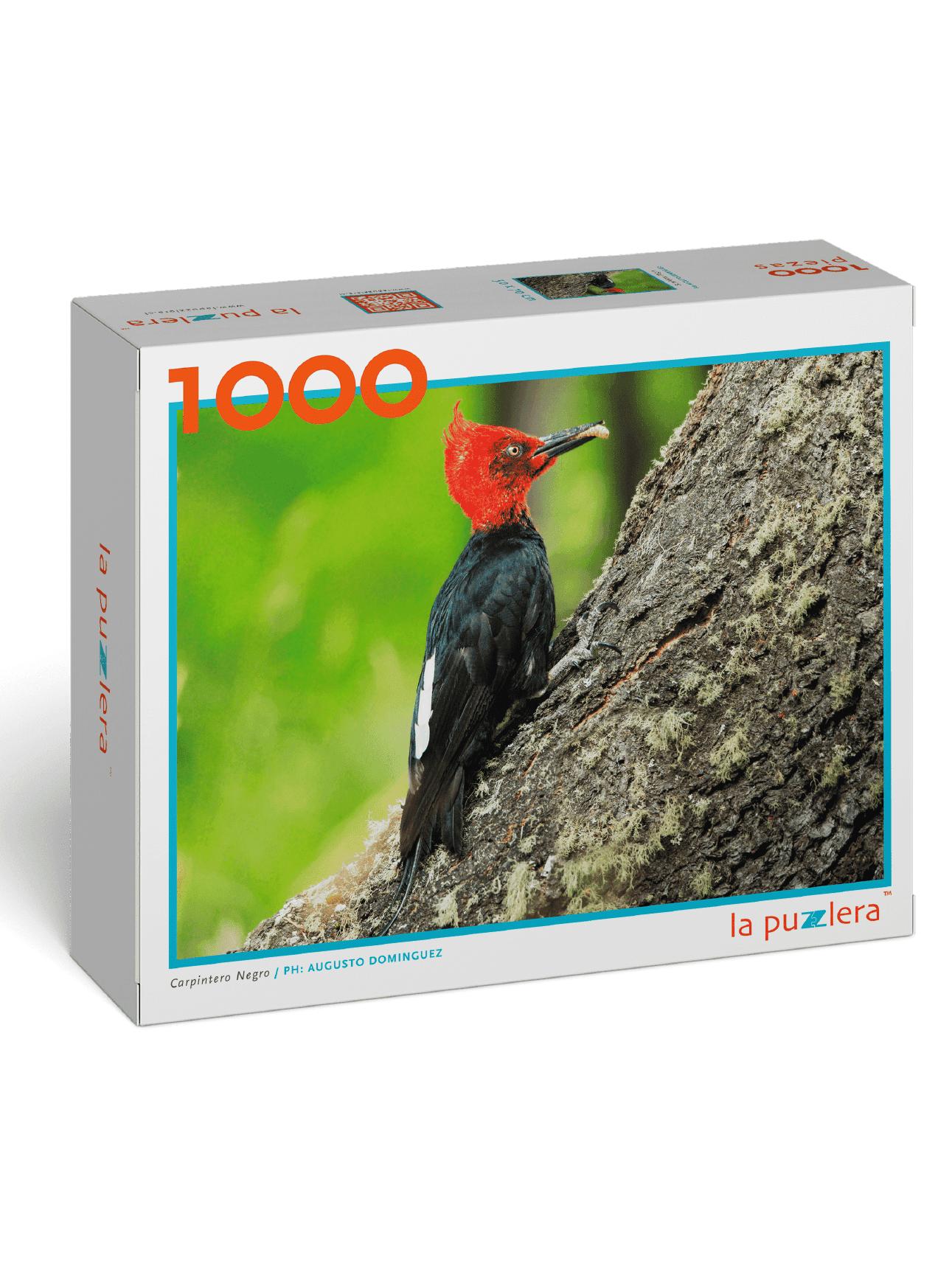 Puzzle Carpintero Negro 1000 Piezas
