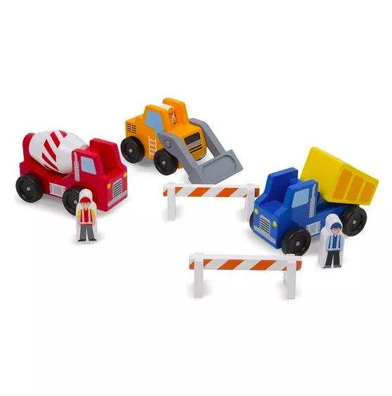 3 Vehículos de Construccion