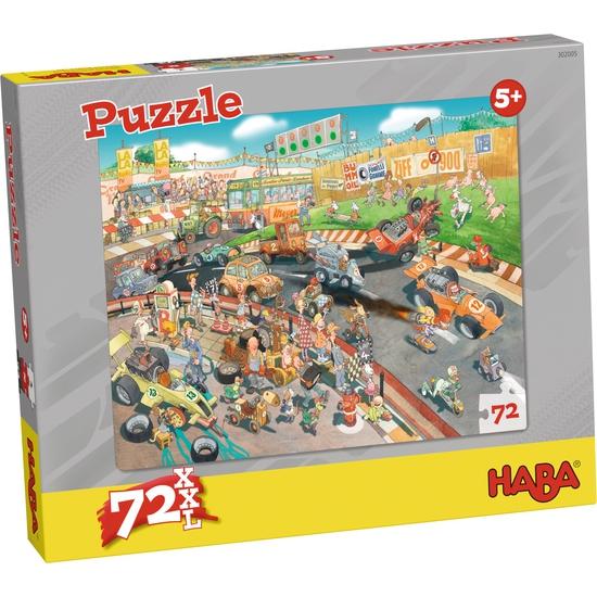 50% descuento - Puzzle autos de carrera
