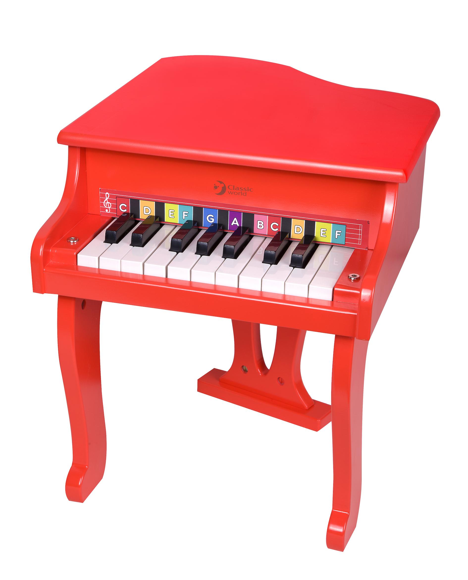 Piano Rojo de Cola