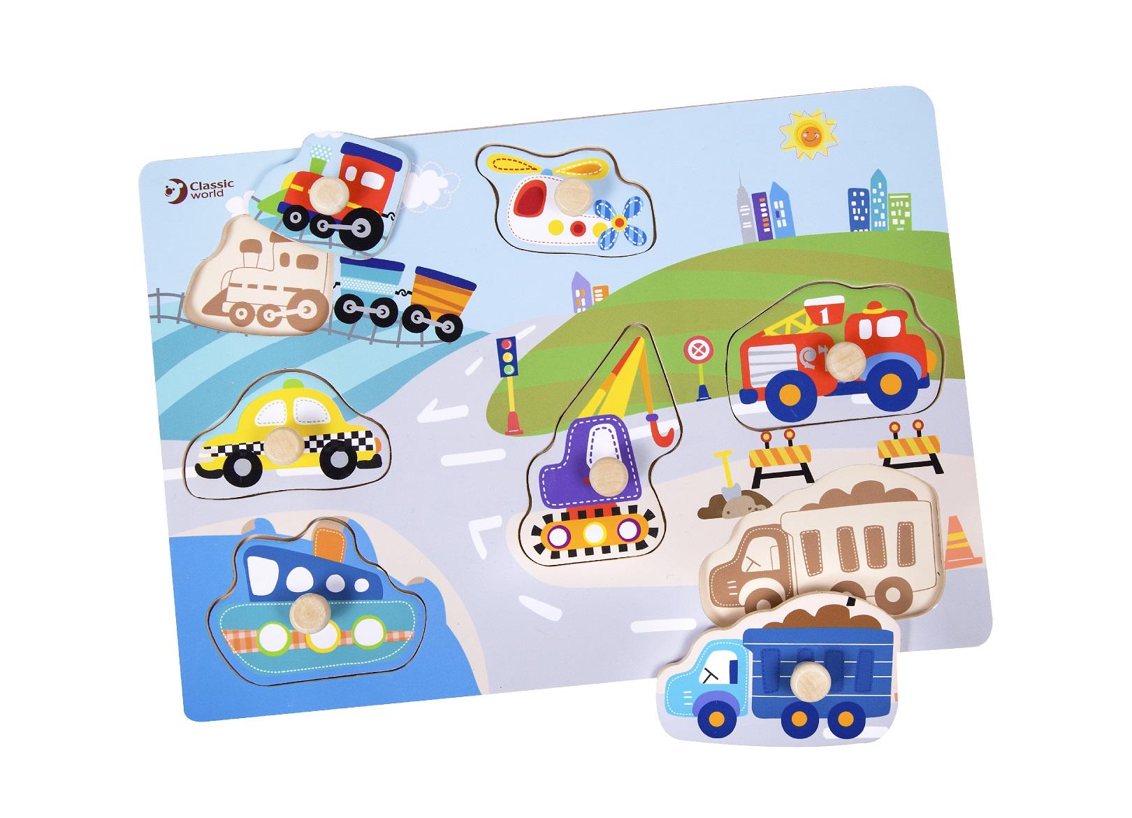 Encaje medios de transporte