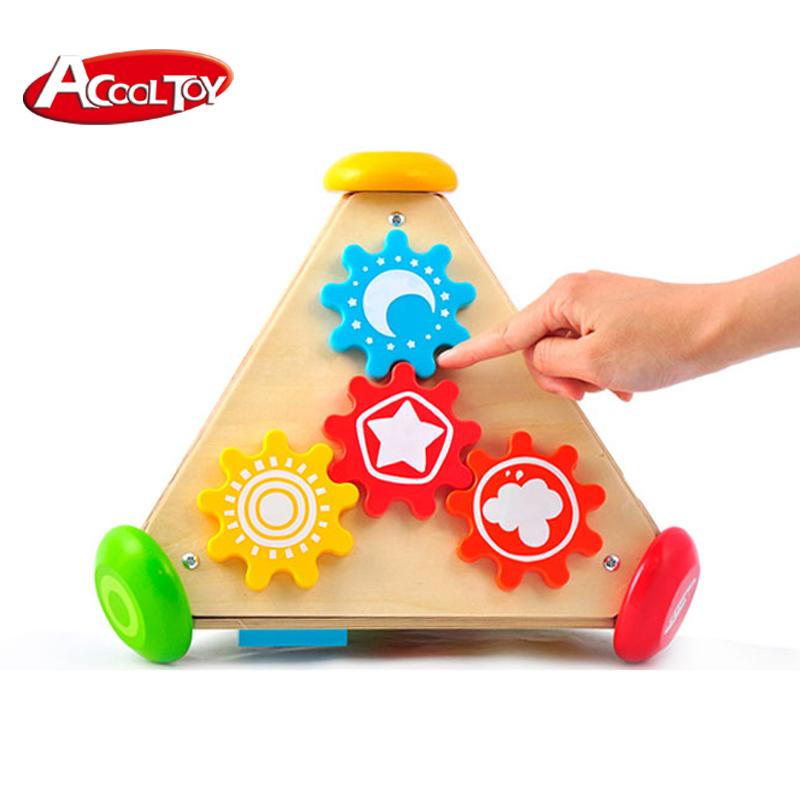 Piramide de Madera Motriz - House of Toys
