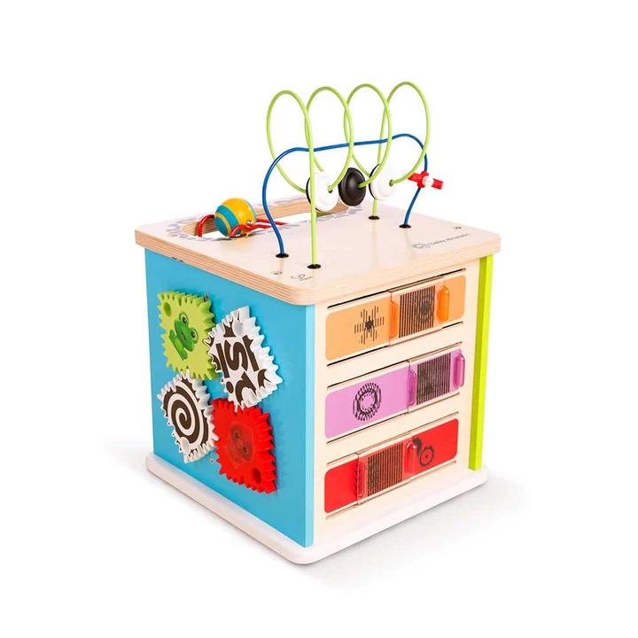 Cubo de Actividades - Estación de innovación  - Baby Einstein - Hape