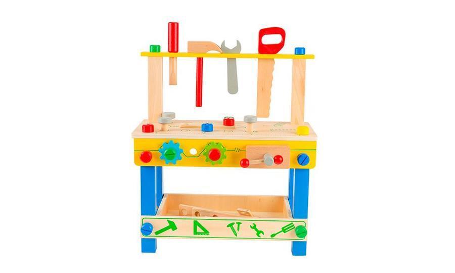 Juego de herramientas de madera