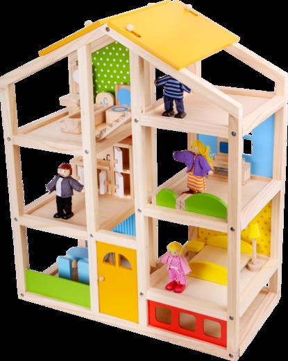 Casa tres pisos Tooky Toy